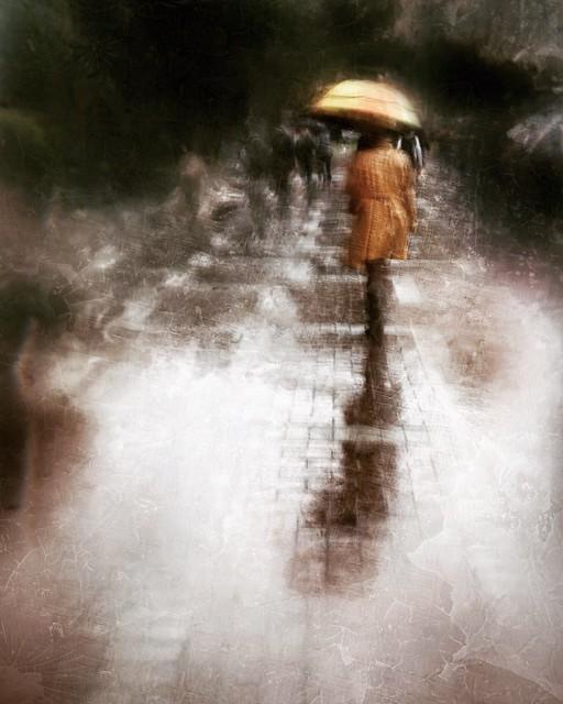 the rhythm of a rainy day . . .