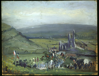 The first pilgrimage to Notre Dame de Lorette after the War of 1914-1918 / Premier pèlerinage à Notre-Dame-de-Lorette après la guerre de 1914-1918