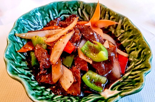 Honey-Beef-Black-Pepper-Sauce   by Real Group Photos