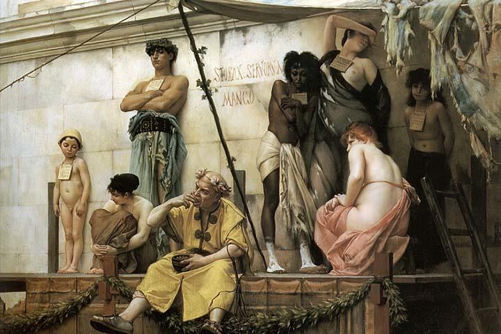 Slavery Boulanger Gustave Clarence Rudolphe The Slave Mark… | Flickr
