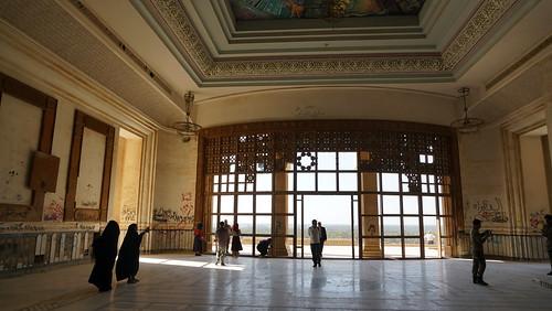 Saddam Hussein's Babylon Palace
