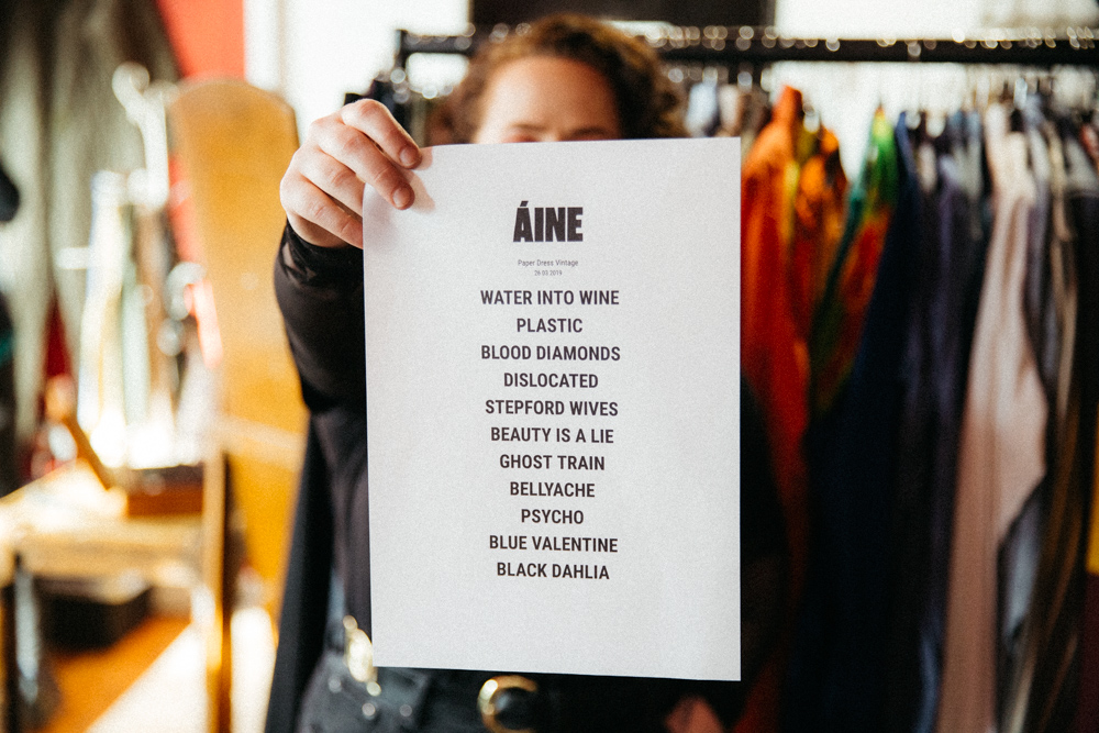 Áine @ Paper Dress Vintage