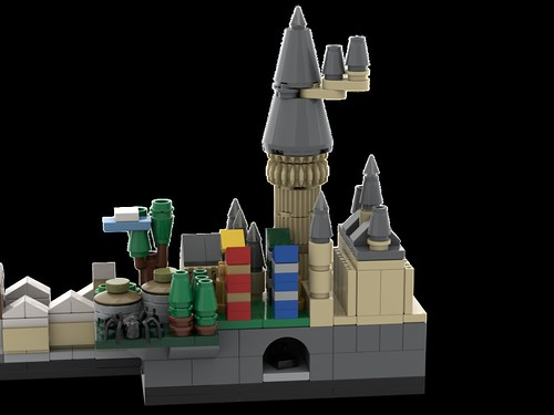 LEGO Harry Potter Skyline Architecture | by MOMAtteo79