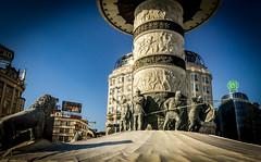 Alexander the Great Statue - Skopje, Macedonia 2017