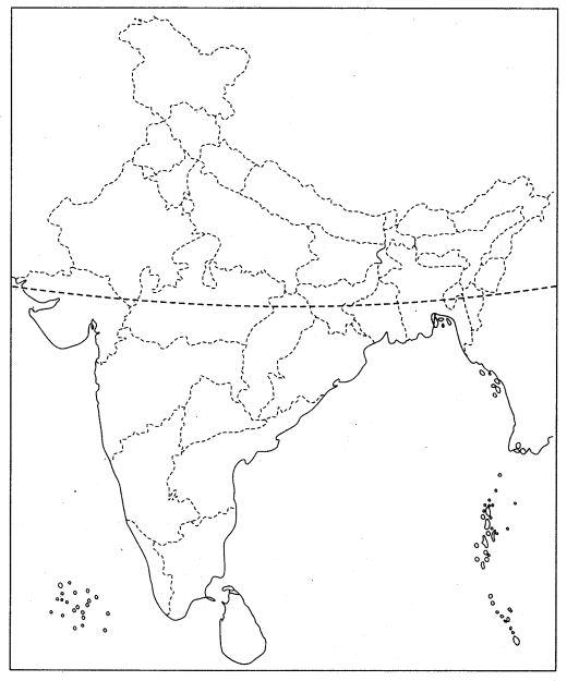 Class 10 History Map Work Chapter 3 Nationalism in India Q4