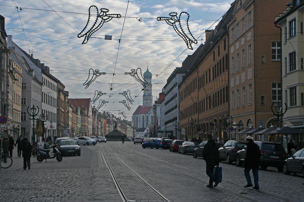 Weihnachtliche Maximilianstraße