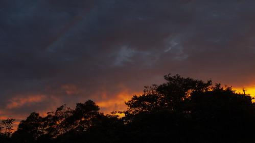 sky sunset cloudsstormssunsetssunrises clouds merimbula weather