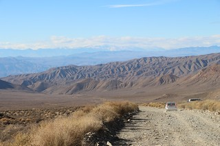 0640 Looking back down Charcoal Kiln Road with the high sierra in the distance to the west   by _JFR_