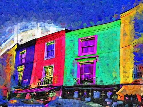 "Mirage on ""17.1.19 2 Notting Hill Portobello Road 24.jpg by donald judge"""