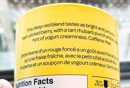 Strawberry Rhubarb Parfait Herbal Infusion | by Suzie the Foodie www.suziethefoodie.com