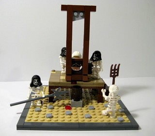 French Reign of Terror in LEGO
