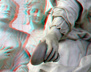 relief-sculptures St.Bavokerk Haarlem 3D