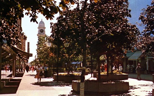Town Clock Plaza Dubuque IA