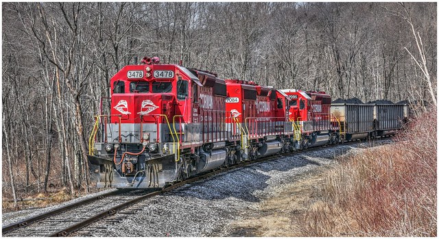 RJ Corman Railroad @ Clymer PA