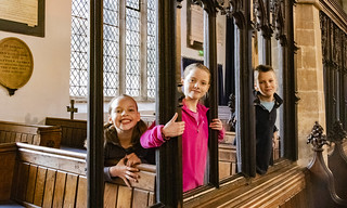 Enjoying St Mary's church, Horncastle Lincolnshire(c) explorechurches.org | by The National Churches Trust