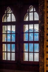 Window. Chillon castle.