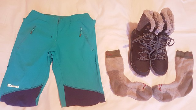 Winter Layering Footwear and Trousers