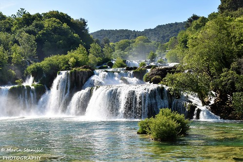 croatia npkrka river krka waterfalls water