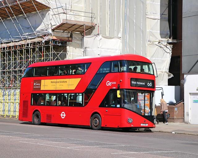 Go Ahead London Central - LT681 - LTZ1681