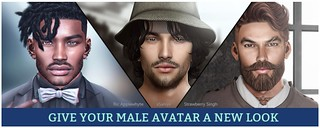 My Male Avatar On The Second Life Marketplace Banner Flickr