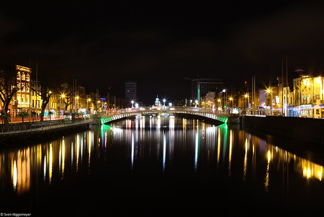 Ha´penny Bridge in Dublin am 15.04.18