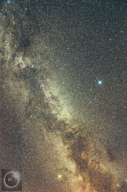 Milky Way from Oxfordshire (Reprocessed) 02/07/14