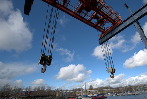 Preston Docks crane | by Tony Worrall
