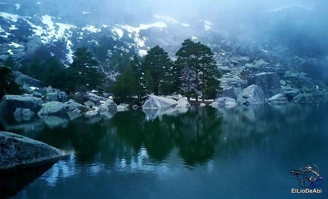 Anochecer en la Laguna Negra de Vinuesa 1
