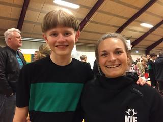 Manis første opvisning på KIE   by emtekaer_dk