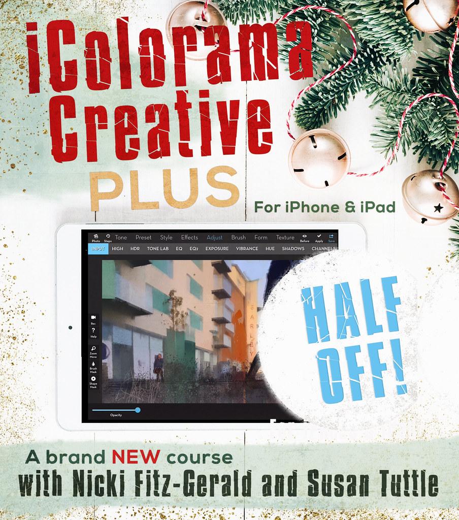 iColorama Creative PLUS video tutorial course | icoloramacre