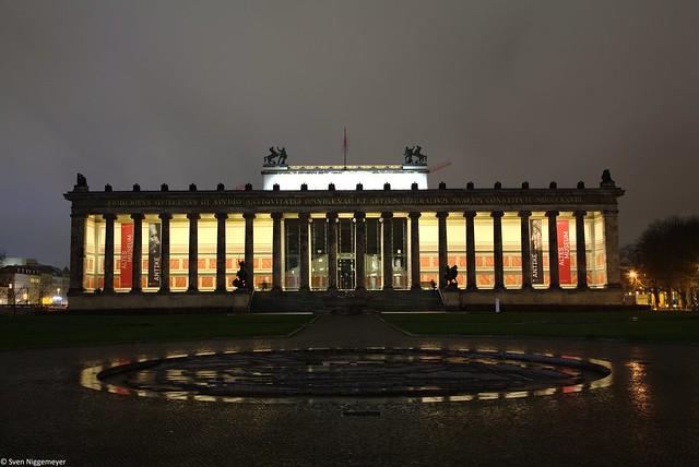 Altes Museum in Berlin am 28.03.19