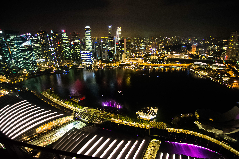 20160308 Singapore nightlights