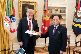 President Trump Meets with Kim Yong Chol | by The White House