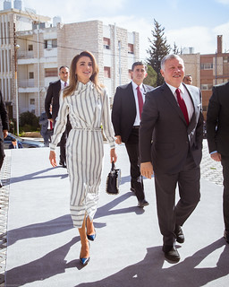 The inauguration of QRTA's new premises   by queenrania