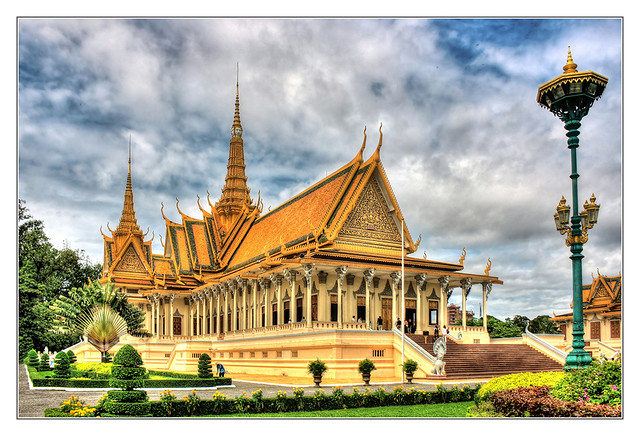 Phnom Penh K - The throne hall inside the Royal Palace complex 10