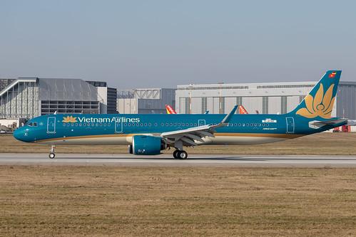 A321-272N Vietnam Airlines D-AYAF - VN-A622 MSN8703 | by hendriksehoof55