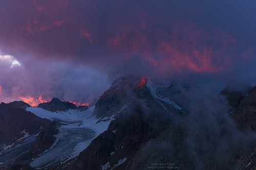 Cloudy sunset at Rifugio Casati | by Bernhard_Thum