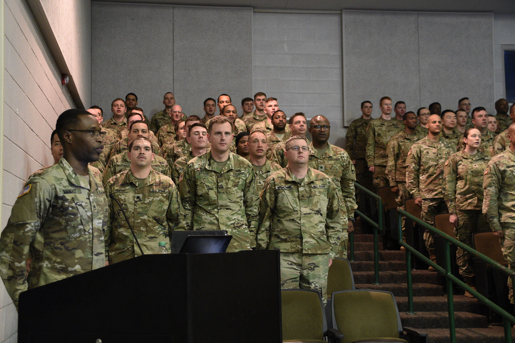BLC 004-19 Graduation | U S  Soldiers graduate the Basic Lea