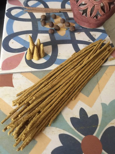 Ras El Hanout Incense, Three Ways