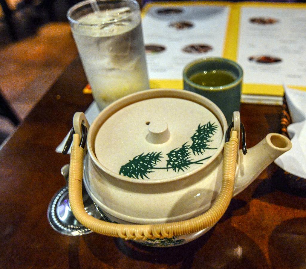 Tokyo Dining teapot Epcot