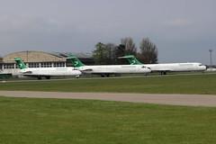 Turkmenistan Boeing 717s at Kemble