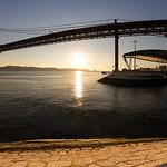 Ponte 25 de Abril, Lisbon, December 28, 2018
