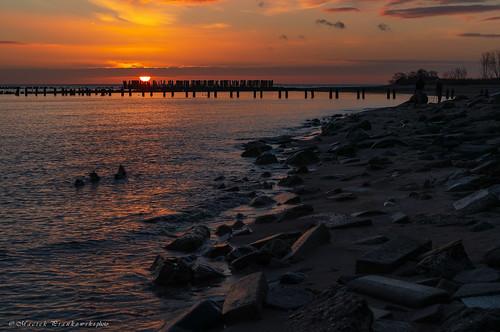 babiedoły zima winter wschódsłońca sunrise balticsea sky photoshoot gdynia landscape nature