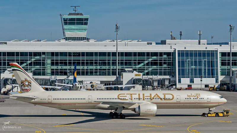 A6-ETM Etihad Airways Boeing 777-3FX(ER)