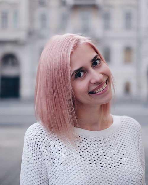 28 Populer Short Pink Hair Color Ideas For 2019 Fashionre