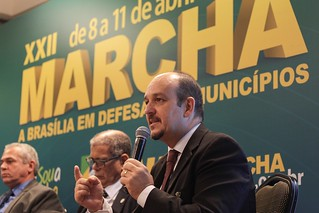 Mauro Junqueira participa de painel na XXII Marcha dos Prefeitos | by CONASEMS
