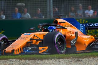 2018 Australian Grand Prix Fernando Alonso McLaren Renault