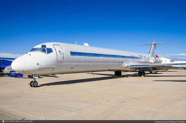 [TUS.2014] #US.Department.of.Justice #McDonnell.Douglas #MD83 #N965AS #Ex-Alaska.Airlines #awp