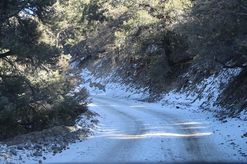 0698 We continued driving higher onto a snow-covered section of the road near Mahogany Flat Campground | by _JFR_