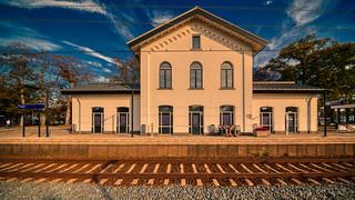 Vught railway station, choo choo.   by Alex-de-Haas